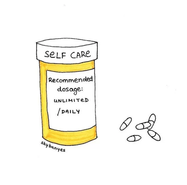 instagram illustrations with a pinch of salt