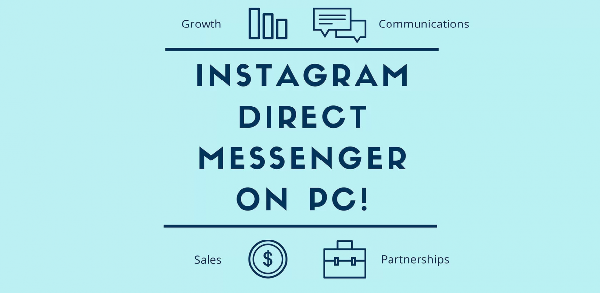 instagram direct messenger on pc