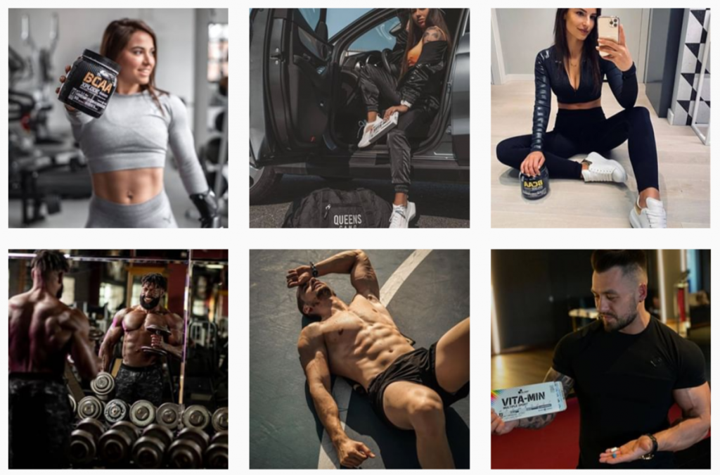 Instagram gallery of s sports nutrition store