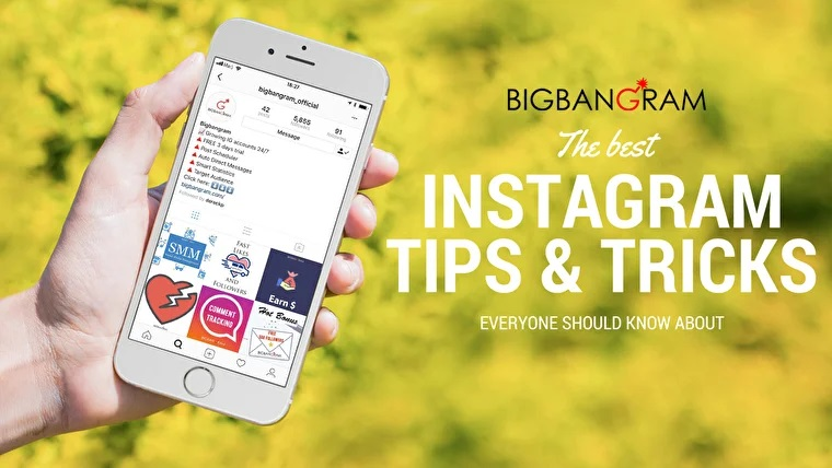 Our instagram tips and tricks