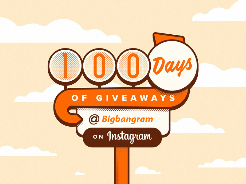 instagram giveaway picture