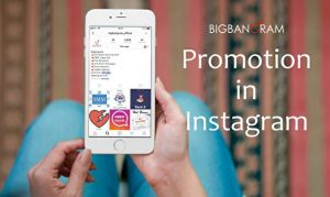 promotion on Instagram