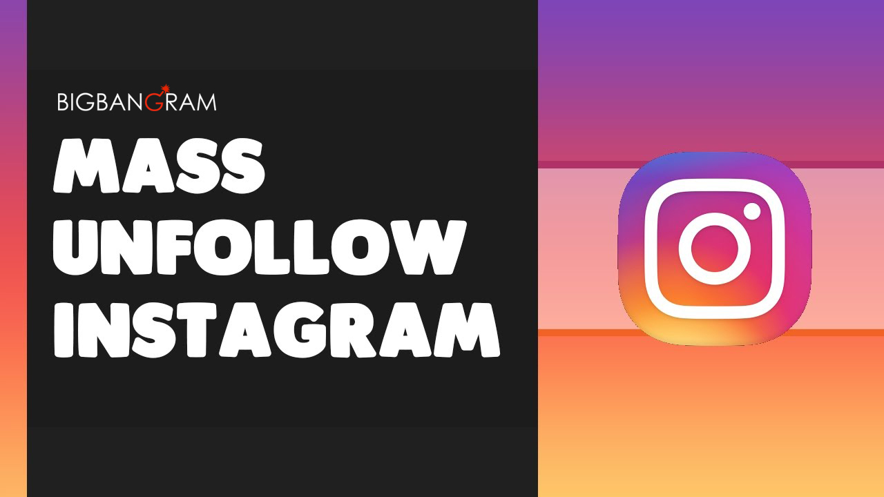 unfollow all unfollowers at once free instagram