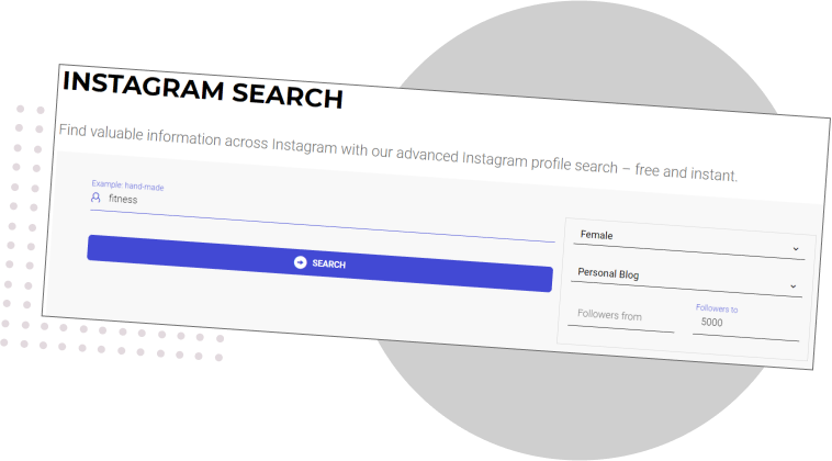 free Instagram Search